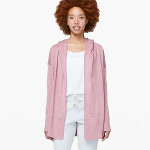 Lululemon Calm and Collected Wrap - Vintage Mauve
